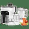 Havells Stilus 500 Watt Juicer Mixer Grinder (GHFJMBVK050, White)