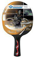 DONIC Young Champ Line 300 Table Tennis Bat ( Orange, 76 grams, All-rounder )