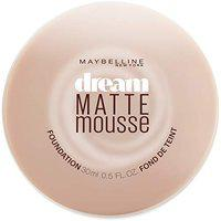 Maybelline New York Dream Matte Mousse Foundation, Natural Beige, 18ml