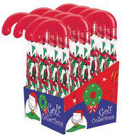 Golf Gifts & Gallery Candy Cane Tee Holder