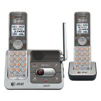 AT&T CL82201 DECT 6.0 2-Handset for Cordless Phone (Silver-Grey)