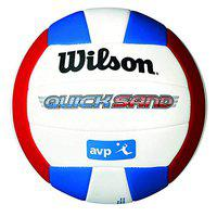 Wilson WTH4893XB Synthetic Quicksand Spike Volleyball (Blue)
