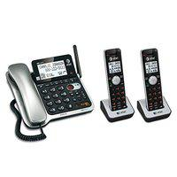 ATT ATCL84202 DECT 6.0 Corded/Cordless 2-Handset Phone System with Call Waiting/Caller ID,