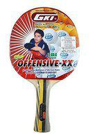 GKI Offensive XX Computerised Printed Cover Table Tennis Racquet (Pack of 2)
