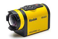 Kodak PIXPRO SP1 Action Cam with Explorer Pack 14 MP Water/Shock/Freeze/Dust Proof, Full HD 1080p Video, Digital Camera and 1.5 LCD Screen (Yellow)