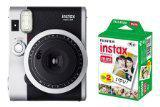 FUJIFILM instant camera Cheki INS MINI 90 neo-classical & Cheki film 20 pieces set