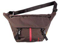 Fastrack Polyester Black Messenger Bag (A0304NBK01)