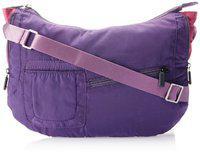 Fastrack Polyester Purple Sling Bag (A0333NPR01)