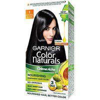 Garnier Color Naturals Natural Black Hair Colour-(Pack of 2)