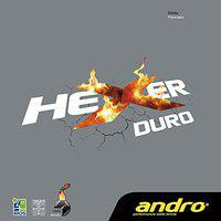 Andro Hexer Duro Table Tennis Rubber Red