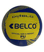 Belco Diablo PU Hand Stitched Ball Volleyball Size 4
