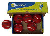 R-Max Cricket Tennis Ball Pace Heavy(Pack Of 6)