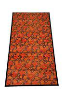Bamboo Greens Bamboo Carpet/Small Mat - 60 x 90 cms, (Red Floral)