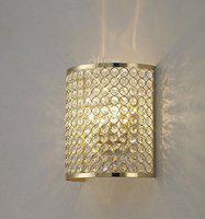 inspiration world 5W Sconce Wall Lamp With Free LED Light, Red / Silver
