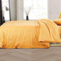 Spread Pure Cotton Single Size Oxford Duvet Cover - 400 TC