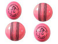 APG PINK CRICKET BALL (PACK OF 4)
