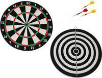 Forever Online Shopping Double Sided Dart Board Game Quality As Per International Standard With 4 Darts Size 12