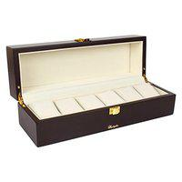 Richpiks Polished watch case for 6 watches