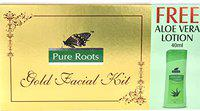 Pure Roots 300g Gold Facial Kit