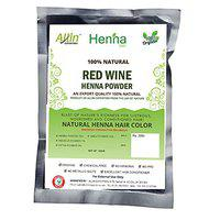 Allin Exporters Red Wine Henna Hair Color - Organic And Chemical Free ( 60 Gram 1 Packet)