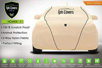TPH Covers Polyester Based Nomex Dog Proof Strongest and Custom Fit Car Cover with Piping for Hyundai Santro