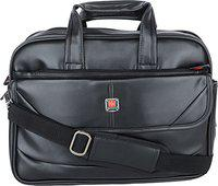 Sammerry PU Leather 12 Liters Black Messenger Bag