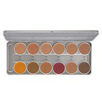 Star's Cosmetics 12 shades Foundation Color Pallate