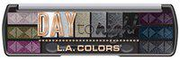 L.A Color Day To Night 12 Color Eyeshadow, Nightfall, 8 g