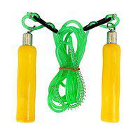 Body Maxx Skipping Rope With Wooden Handle Grips