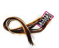 Majik Colored Hair Extension With Pins In Straight Piece (Set Of 12)