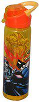 Disney Star Wars Plastic Sipper Water Bottle with Adjustable Handle, 750ml Orange