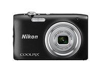 Nikon Coolpix A100 Digital Camera, 20MP, Black
