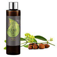 All Naturals Jojoba Oil 100ml - Cold Pressed (Rajasthan) Carrier Oil Pure & Undiluted for Balancing Oily Skin, Natural Makeup Remover, Hair Vitalizer, Natural Lip Balm and Nails Extension