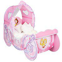 Disney Princess Carriage Toddler Bed With Light Up Canopy