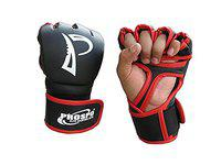 Prospo MMA Mixed Martial Arts Striking Fighting and Combat Synthetic Leather Kick Boxing Gloves