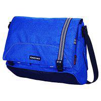 Fastrack Polyester 12.19 Ltrs Blue Messenger Bag (A0618NBL01)