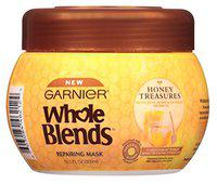 Garnier Whole Blends Mask Honey Treasures 10.1 Ounce Jar (300Ml) (2 Pack)