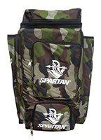 Spartan Ms Dhoni Cricket Kit Camouflage Backpack- White Print