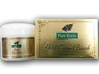 Pure Roots Herbal Creme Bleach 42gm(Creme 35g + Activator 7g) - Pack of 2 (Gold)
