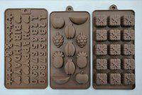 MASOOM NX Bakeware Silicone Set Of 3 Chocolate Mould / 3 Assorted Mould Combo (48-49-50)