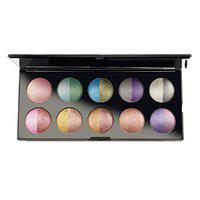 GlamGals HOLLYWOOD-U.S.A 20 color baked Eyeshadow, Multicolor 269g