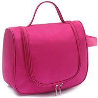 CONNECTWIDE Toilatory Bag/Travel Cosmetic Bag (Pink) Qty.(1Pck) Size.28 * 20 * 10 cm