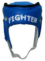 Fighter Unisex Headgear, Large, Blue