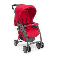 Chicco Simplicity Plus Stroller Red Stroller(No Recline position, Red)