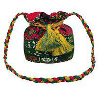 Anekaant Polyester Women Handheld Bag - Multi