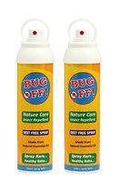 Bug Off Manual Hand Spray Insect Repellent for Bugs & Flies 180ml Pack of 2