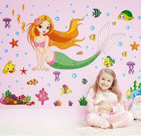 Creatick Studio 'Wall Stickers for Bedroom Kitchen' Size (21 X 25 INCH)