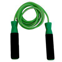 Harvey Sports & Fitness Fitness Jumping Skipping Rope with Comfortable Foam Grip (Green HOT)