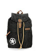 The House of tara 17 inches Backpack (HTBP 123_Black)