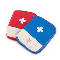 Lemish's Mini Small First Aid Kit Travel Pouch Medicine Storage Bag